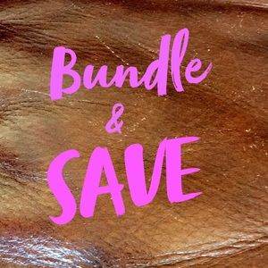 Bundle Items & SAVE!!!